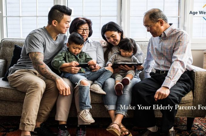 3 Ways to Make Your Elderly Parent Feel Love