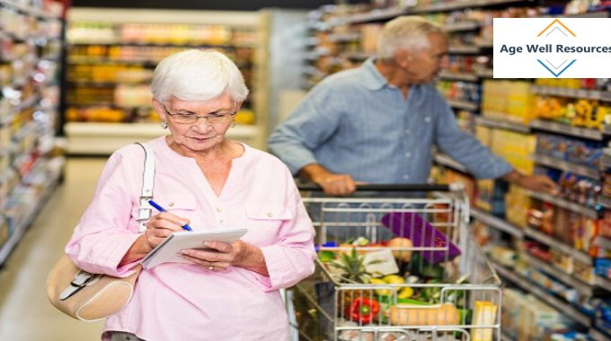 Grocery Shopping Tips With Seniors