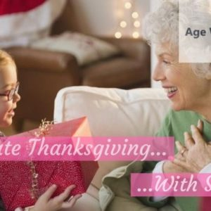 How to Celebrate Thanksgiving with Seniors
